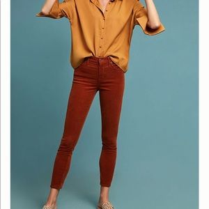 Citizens of Humanity   corduroy high rise skinny